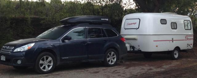 Towing A 16  U0026 39  Scamp With A 2015 Outback Premium