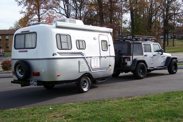 My Next Big Idea A 13 Scamp Trailer For The Jeep
